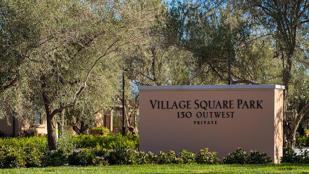Village Park Monument
